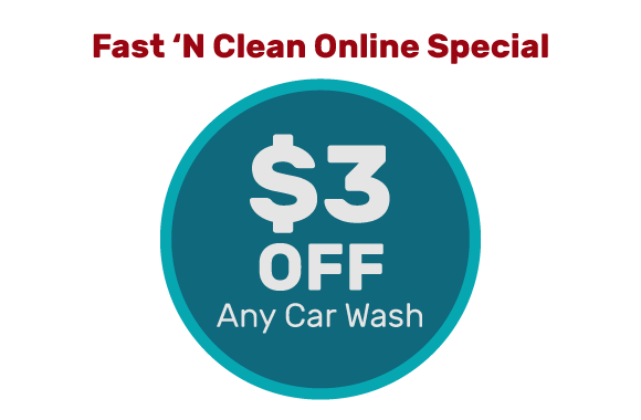 $3 Off Any Car Wash