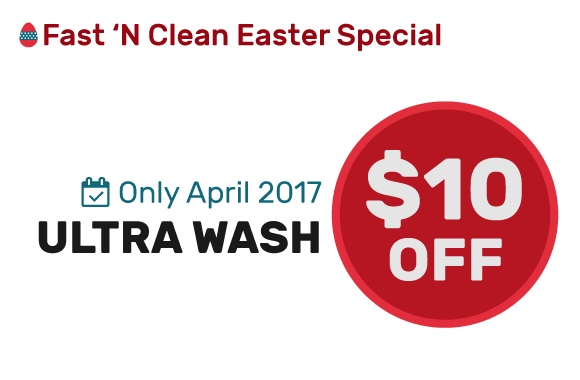 Ultra Wash $10 Off